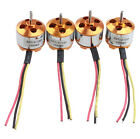 4 Sets x A2212 1000Kv Brushless Outrunner Motor For Airplane Aircraft Quadcopter