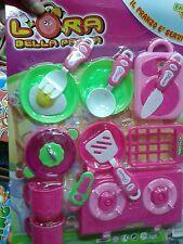 Set cucina piatti pappa kit gioco di qualità giocattolo toy