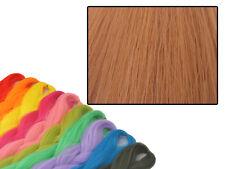 CYBERLOXSHOP PHANTASIA KANEKALON JUMBO BRAID COPPER ROSE ORANGE HAIR DREADS