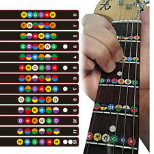 Guitar Accessories Scale Sticker Neck Fingerboard Fret board Note Learn Practice
