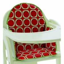 """WATERMELON"" RED Cushion/Insert/Pad for Baby/Babies Wooden High Chair NEW"