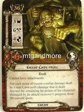 Lord of the Rings LCG  - 1x Great Cave-Troll  #046 - The Road Darkens