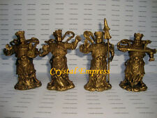 FENG SHUI - BRASS 4 HEAVENLY KINGS (ALL FORMS OF PROTECTION)