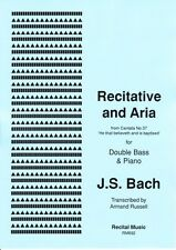 Recitative and Aria (Bach/Russell) (Double Bass & Piano) RM692
