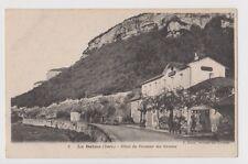 """CPA """" LA BALME - Hôtel du Fermier des Grottes"""
