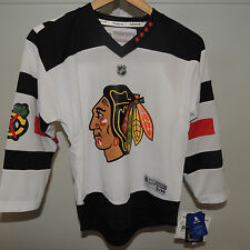 NHL REEBOK Chicago Blackhawks Hockey Jersey NEW Youth S/M
