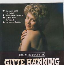Tag Med Ud Å Fisk - Gitte Hænning ( Erstauflage EMI 1396102 )