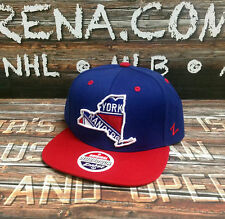 "New York Rangers Zephyr ""Statement"" Adjustable Snapback"