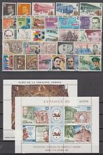 SPAIN - ESPAÑA - YEAR 1980 WITH THE STAMPS MNH AND MINISHEETS