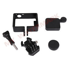 Standard Frame Mount+Camera Case Lens Cover protector For Gopro HD Hero 3+