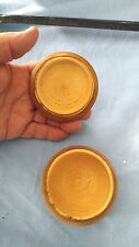 Hand made trinket box for jewelry, dressed container for pocket change wood mint