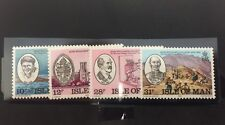 Isle Of Man #246-249 Mint NH (SCV=$3.05)