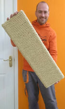The UK's Best Cat Scratching Board Mat 10mm Chunky Sisal Rope, Heavy, Durable