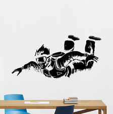 Skydiving Wall Decal Parachuting Decor Sport Vinyl Sticker Art Poster 170xxx