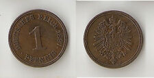 GERMANY 1 pfennig 1887 A  High grade !
