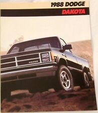 1988 88 Dodge Dakota  original sales brochure