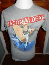 Jason Aldean 2014 Night Train Concert Tour T-Shirt Small