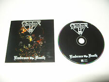 Asphyx Embrace The Death cd 14 tracks 1996 Early Rare Press Ex Condition