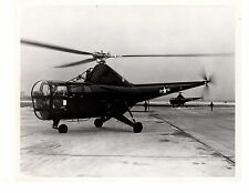 Historical US Navy Aircraft Helicopter USS Sikorsky HO3S Official Photo 8x10