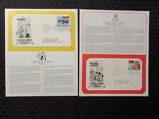 1995 COMIC STRIP CLASSICS First Day Issue LOT of 3 VF- Blondie Rube Goldberg +++
