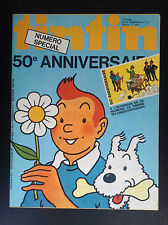 Journal Tintin N° 171 50 e anniversaire Complet Timbre ETAT NEUF