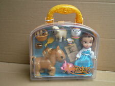 "Disney Store Belle Animators Collection Mini 5"" Doll Beauty and the Beast"