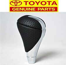 GENUINE LEXUS IS-F CHROME SHIFT KNOB BLACK TOYOTA HARRIER ARISTO ALTEZZA OEM