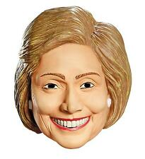 HILLARY RODHAM CLINTON LATEX MASK DEMOCRATIC POLITICAL COSTUME DG87552