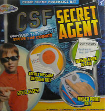 CSF (Crime Scene Forensics) Kit Toy Game. Uncover the Clues, Solve the Crime!