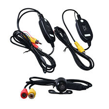 Car Reverse Rearview Back Up Camera Wireless Kit Rear View Monitors/Cams & Kits