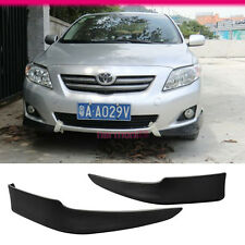 FIT FOR 09 10 TOYOTA COROLLA OE STYLE PP POLYPROPYLENE FRONT BUMPER LIP SPOILER