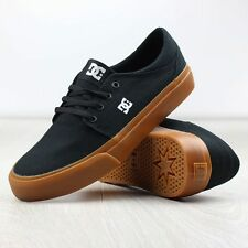 NEW DC Mens TRASE TX SKATE Shoes BLACK GUM SIZE SZ 10.5 NIB SKATEBOARD LO TOP