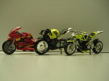 Hotwheels bikes x 2 plus a Dragbike! - Used