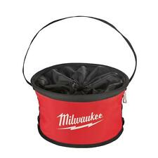 Milwaukee Parachute Organizer Bag Tool Pouch Tote Bucket Pocket Belt Box Storage