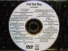 FALL OUT BOY THE COMPLETE MUSIC VIDEO DVD COLLECTION UMA THURMAN CENTURIES