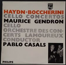 PHILIPS 835 068 / WRC HAYDN BOCCHERINI CELLO CONC. GENDRON CASALS AUS PRESS
