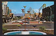 GRAND JUNCTION, COLORADO C.1960 PC. DOWNTOWN S-TURN, SHOPPING DISTRICT, MAIN ST.