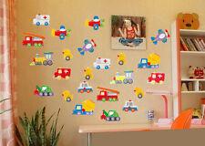 Coches Aeroplanos Patos Mural Adhesivos De Pared Pegatina