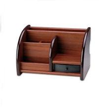 Wooden Office/Home Supplies Desk Pen Storage Box Stationery Holder Organizer