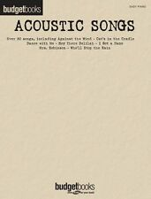 Budget Books Acoustic Songs EASY BEGINNER Play AMERICAN PIE Piano SHEET Music