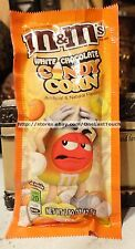 M&M'S*^1.50 oz Bag White Chocolate CANDY CORN Limited Edition HALLOWEEN Exp.5/17