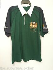 RARE MENS 2006 BULL AND BEAR POLO RUGBY SHIRT XL HONG KONG EDITION GUINNESS BEER