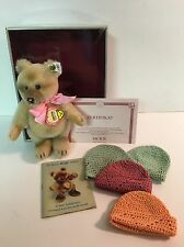"STEIFF  6"" Jackie Bear 1953, SWEET SIXTEEN Excellent Collectible Replica Germany"