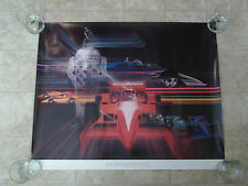 The Winners Circle Poster Print Commissioned for 71st Indianapolis 500 Chrysler