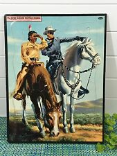 The Lone Ranger and Tonto Picture Puzzle #2610:29 Whitman Publishing 1954