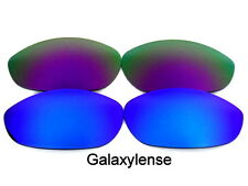 Galaxy Replacement Lenses For Oakley Monster Dog Blue&Purple 100%UVAB 2 Pairs
