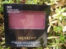 REVLON ULTRA-SOFT SILKY SATIN FINISH POWDER BLUSH, #005 PLAYFUL PLUM