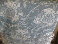 "LAURA ASHLEY 70"" ROUND TABLECLOTH KYLIE GRAY FLORAL FLANNEL BACK VINYL NWOT"