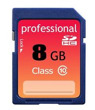 Brand New 8GB Class 10 SD HC (SDHC) High Speed Professional Flash Memory Card 8G