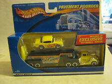 Hot Wheels Pavement Pounder '57 Custom Chevy, new in box (JLD-2)